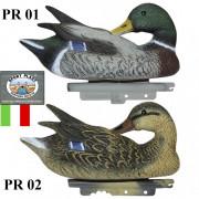 Чучело утки поправляющей перо Sport Plast PR 01-02 (кряква и селезень)