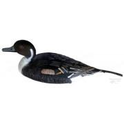 Чучело подсадное шилохвость утка/селезень плавающее килевое пластиковое