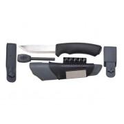 Нож Morakniv BushCraft Survival, нержавеющая сталь, черный, 11835