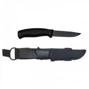 Нож Morakniv Companion Tactical BlackBlade, нержавеющая сталь, черный клинок, 12351