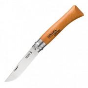 Нож Opinel №10, углеродистая сталь, рукоять из дерева бука