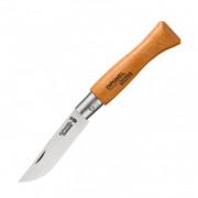 Нож Opinel №5, углеродистая сталь, рукоять из дерева бука