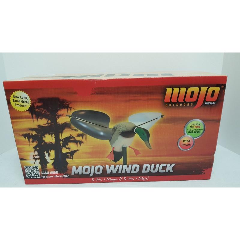 Механическое (ветровое) чучело утки Wind, селезень MOJO HW7301