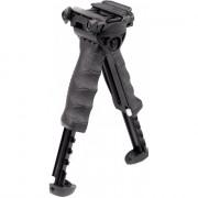 Тактическая рукоять-сошка FAB-Defense (T-POD G2) на вращающемся основании, быстросъемная