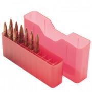 Пенал MTM красный для 20 патронов .300 & .338 Win Mag, .30-06Spr., 270 Win., 8x57 Mauser