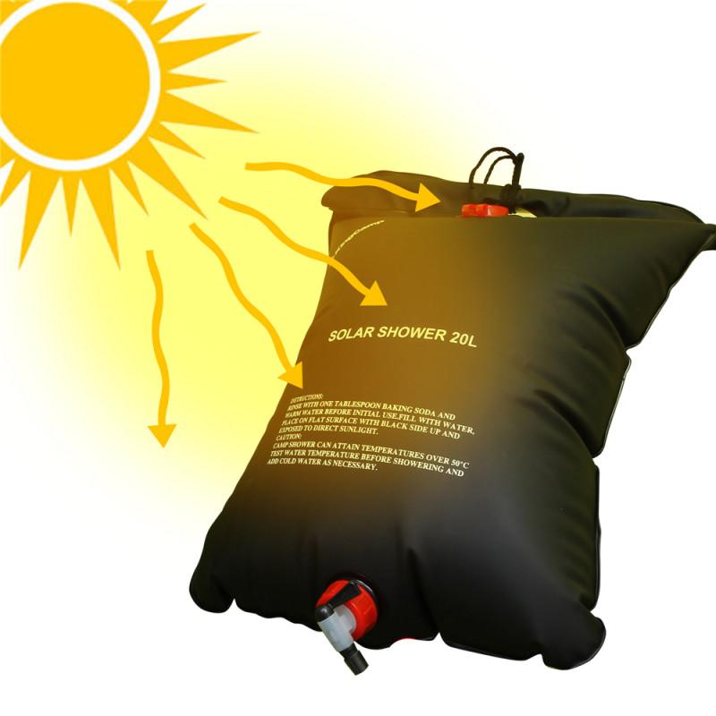 3658 Solar Shower  душ походный 20литров KingCamp