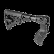 Телескопический приклад FAB-Defense с амортизатором для Remington 870 чёрный, fx-agr870fksb