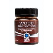 Защитная пропитка для дерева Neo Elements Wood Protection цвет красно-коричневый 50 мл, NE-29