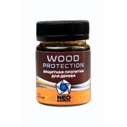 Защитная пропитка для дерева Neo Elements Wood Protection цвет светло-коричневый 50 мл, NE-30
