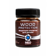 Защитная пропитка для дерева Neo Elements Wood Protection цвет темно-коричневый 50 мл, NE-31