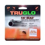 Мушка Truglo Fat Bead двухцветная красная/зеленая, ввинчивающаяся, резьба 2,6 мм, 00948CD