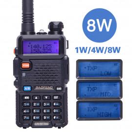 Радиостанция Baofeng UV-5R 8 W (3 режима мощности)