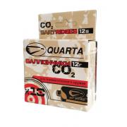 Баллончик CO2 Quarta, 12 г, 10 штук в упаковке, QU-10