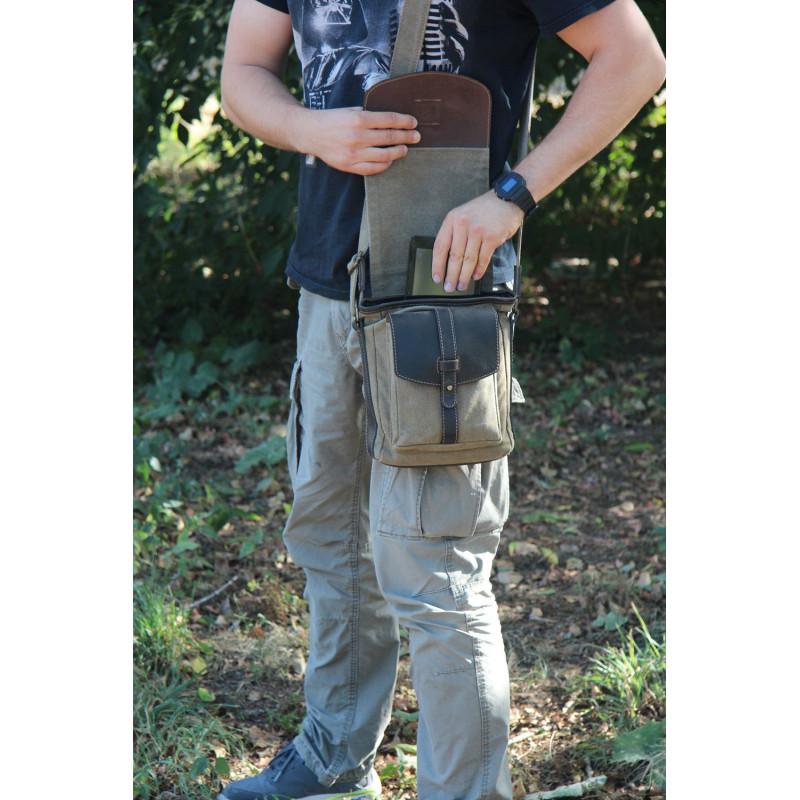 Сумка для скрытного ношения оружия Марсель Стич Профи с карманом для пистолета