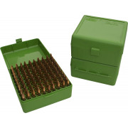 Кейс MTM для патронов (нарез. оруж) RM-100-10