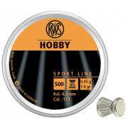 Пульки пневматические RWS Hobby 4.5 мм 500шт