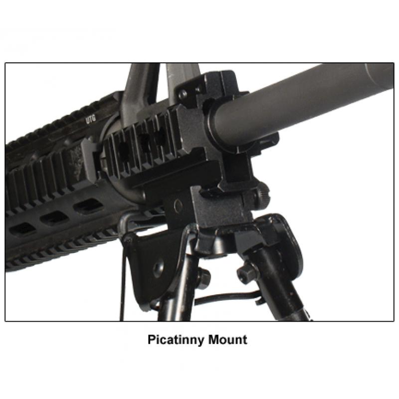 Сошки Leapers UTG для установки на оружие на планку Picatinny, регулируемые TL-BP88