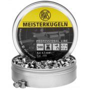 Пульки RWS Meisterkugeln винтовочные 4,5 мм