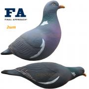 2шт Голубь вяхирь Final Approach, FA-195003 Last Pass Wood Pigeon Decoys