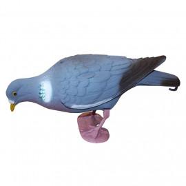Муляж голубя Sport Plast 26-00 F полнотелый кормящийся, колышек+стойка