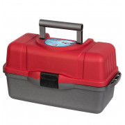 Ящик рыболова трехполочный красный Helios