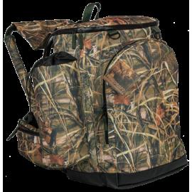 Рюкзак AVI-Outdoor Fiskare Camo с раскладным стулом на 45 литров (камуфляжный) 1063c
