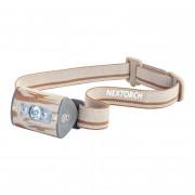 Налобный фонарь NexTorch Trek-Star (камо) с UV ультрафиолетом, 220 люмен