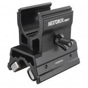 Держатель RM87 подствольный магнитный для фонарей Ø23-26.5мм (регулируемый), NexTORCH