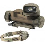 Тактический налобный фонарь Petzl Strix VL, расцветка камуфляж (MIL) (max. 30 Люмен)