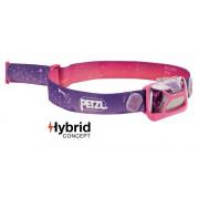 Налобный фонарик для детей Petzl Tikkid розовый