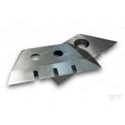 Ножи для ледобура зубчатые 130 мм