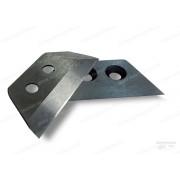 Ножи прямые для ледобура 130 мм