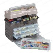 Ящик Plano с 4-мя коробками, большим отсеком для хранения аксессуаров