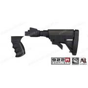 Комплект для карабина Сайга - телескопический приклад + пистолетная рукоять + подщечник + тыльник