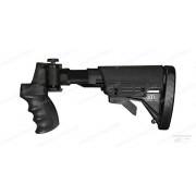 Приклад на помповые ружья Rem, Win, Moss, Mav складной телескопический с пистолетной рукоятью