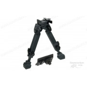 Сошки Leapers UTG для установки на оружие на планку Picatinny, регулируемые, 21 - 32 см