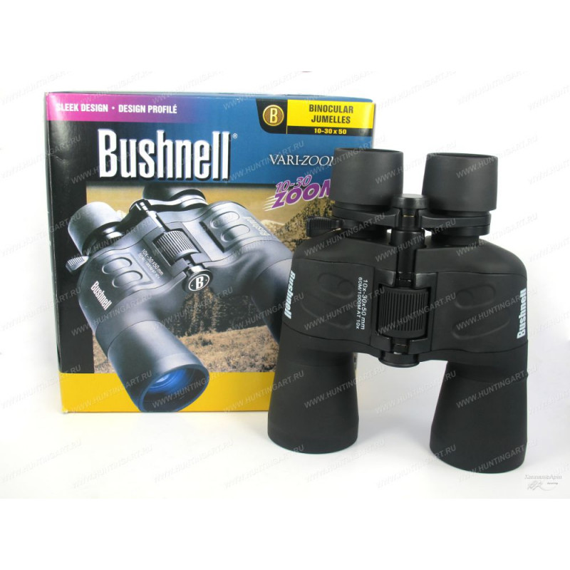 Бинокль Bushnell Falcon 10-30x50