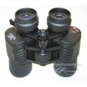 Бинокль RTI 9-27x50 чёрный, прорезиненный