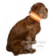 Светоотражающий ошейник для собак