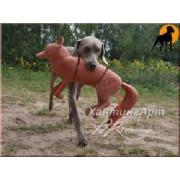 Муляж лисы для натаски собак