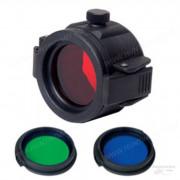 Крышка NexTorch для фонарей, с тремя светофильтрами