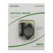 Кронштейн-кольцо Nextorch для фонаря O25 мм на Weaver/Picatinny