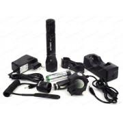 Комплект NexTorch - фонарь подствольный TA3, с кронштейном, выносной кнопкой, фильтром и зарядным устройством