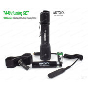 Комплект NexTorch - фонарь подствольный TA40 на 1040 люмен с кронштейном и выносной кнопкой