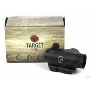Коллиматор Target Optic 1х22 закрытого типа на Weaver