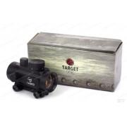 Коллиматор закрытого типа Target Optic 1x30 на призму 11 мм