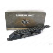 Комплект на Browning Bar: кронштейн-моноблок, планка Weaver, основание-база