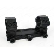 Кронштейн моноблок с кольцами 25,4 мм на планку Weaver