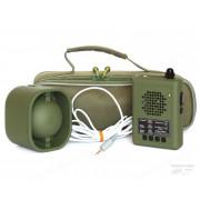 """Электронный манок """"Егерь 55"""" с динамиком ВЗМ + блок питания 12 V и кабель 10 м."""