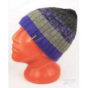 Водонепроницаемая шапка DexShell DH332N, фиолетовый градиент